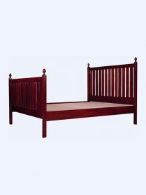 Slatted Bed with Acorns