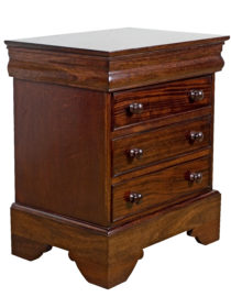 Bullnose Pedestal with drawers
