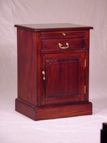 1 Drawer Pedestal with pull out shelf & cupboard